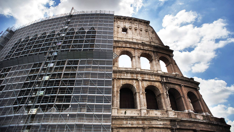 Foto: Imagen del Coliseo Romano.