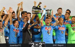 Higuaín y Tévez son medio 'calcio': 18 penaltis hacen justicia al Napoli