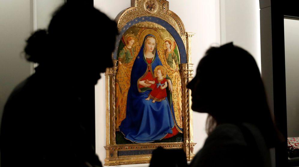 Foto: Exposición sobre Fra Angelico en el Museo del Prado. (EFE)