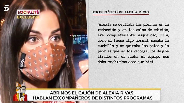 Los excompañeros de Alexia cargan contra ella. (Telecinco).