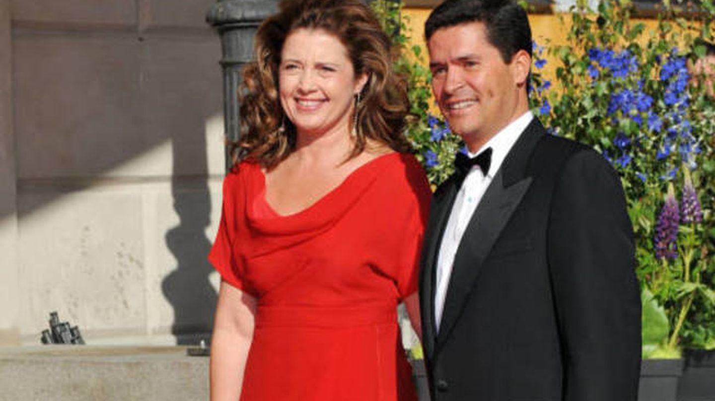 Alexia y Carlos Morales. (Getty)