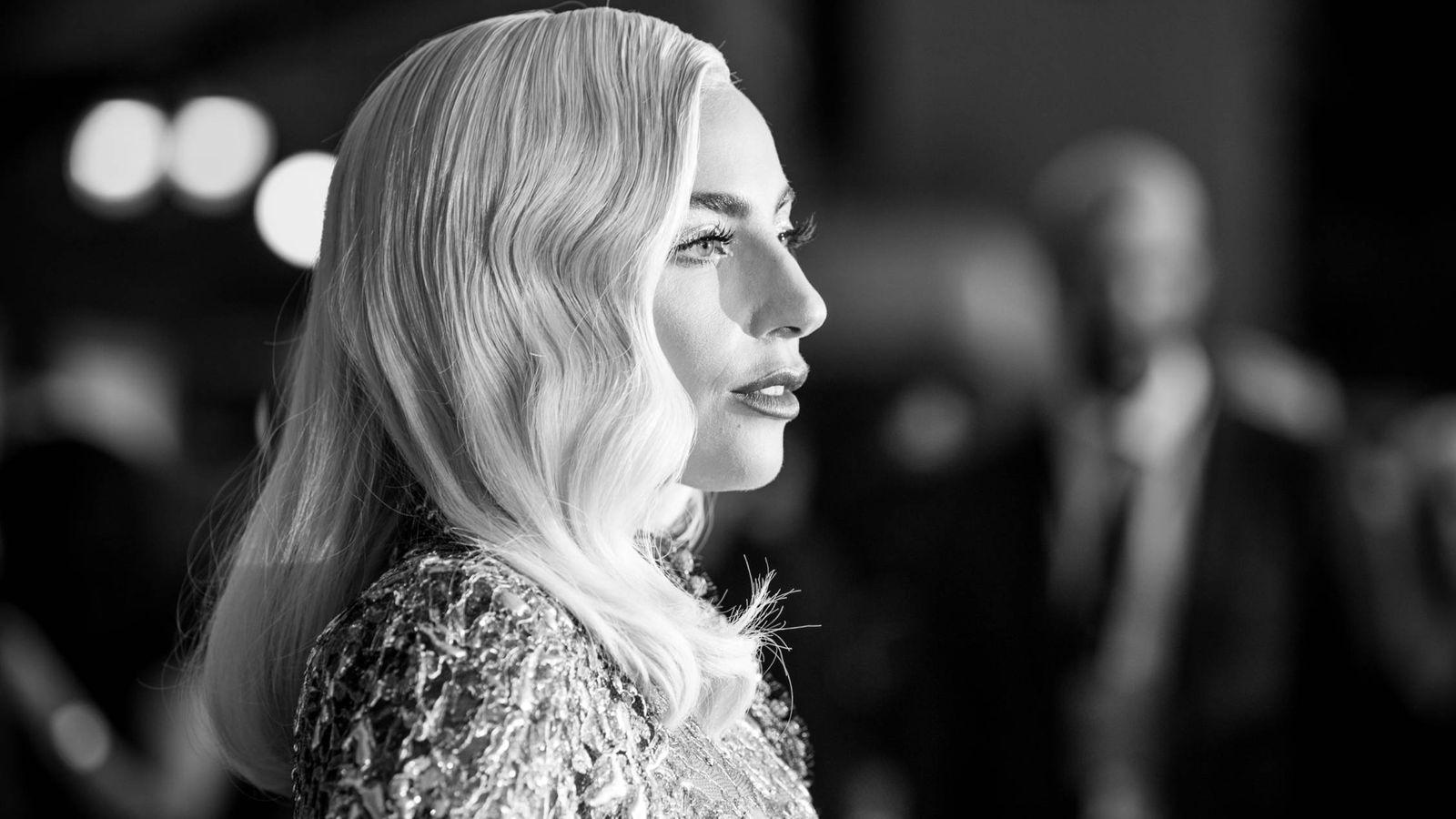 Foto: Lady Gaga en la première de 'Ha nacido una estrella'. (Getty)