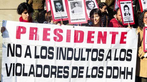 Protesta contra libertad de exagentes de Pinochet