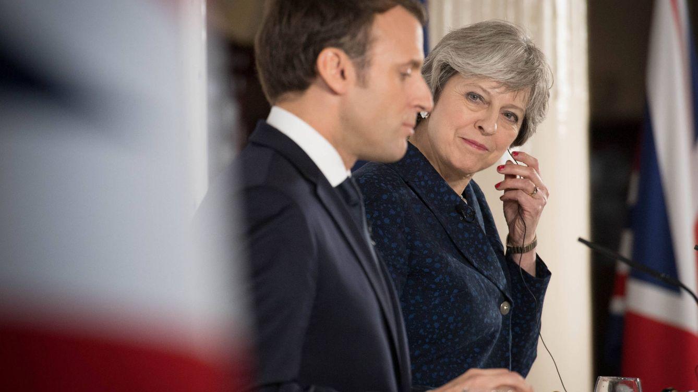 May ante Macron: Londres intenta explotar las grietas en la UE para salvar el Brexit