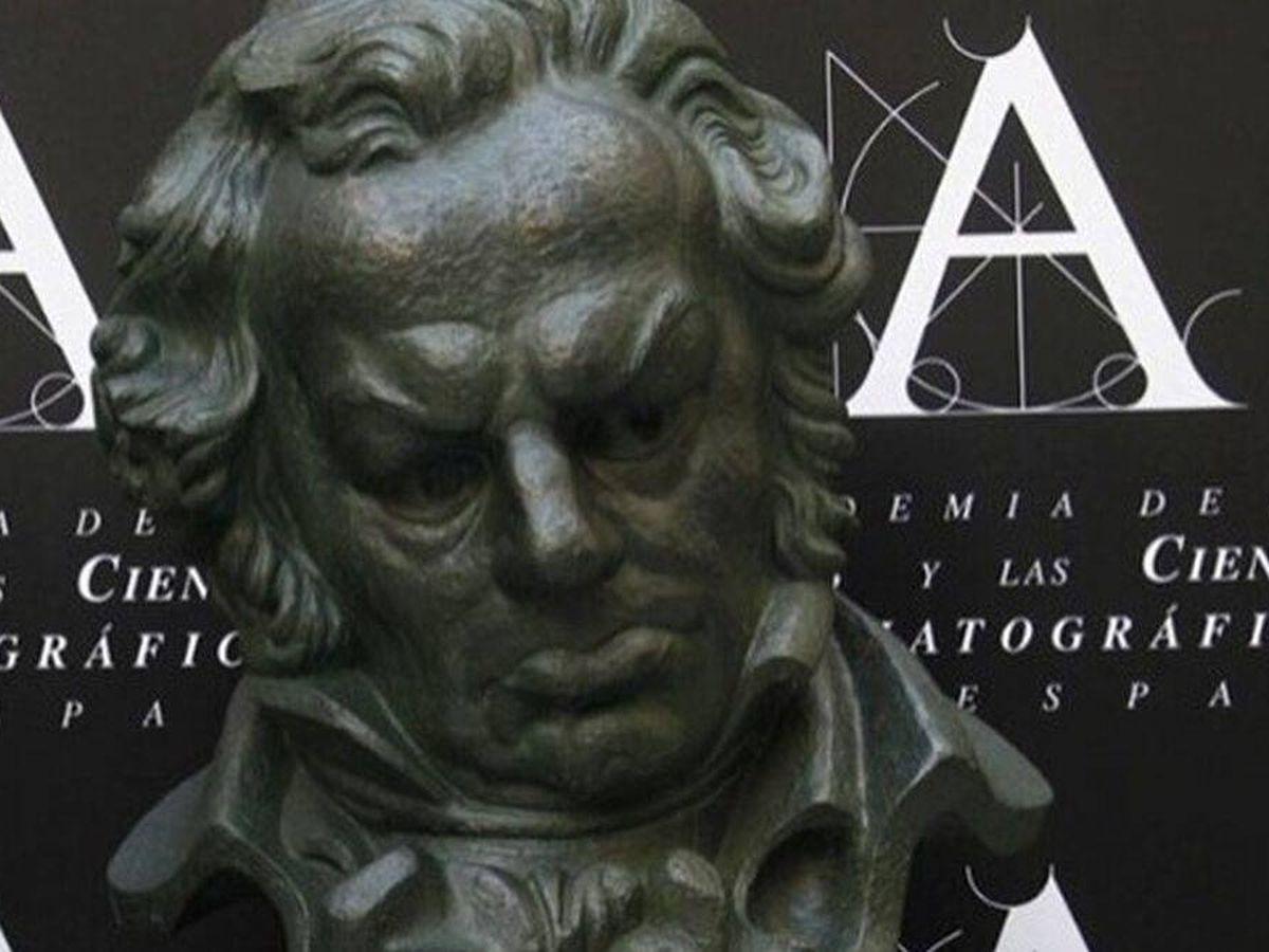 Foto: La estatuilla de los Premios Goya.(EFE)