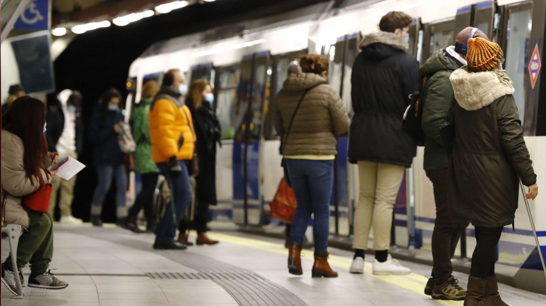 El metro de Madrid, en una imagen de archivo. (EFE)