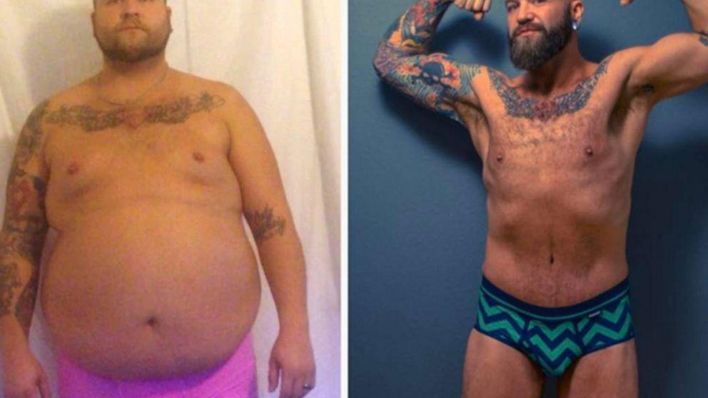 La increíble historia del hombre que perdió 90 kilos: así lo consiguió