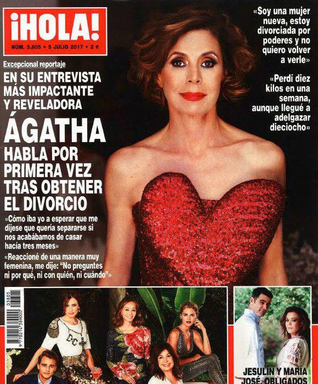 Foto: Portada de la revista '¡Hola!'.