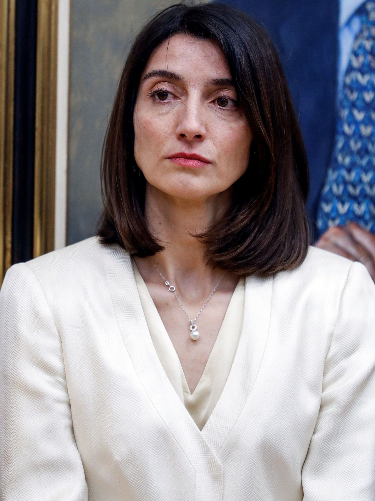 Pilar Llop, el pasado 24 de julio, en su toma de posesión como delegada del Gobierno para la Violencia de Género. (EFE)
