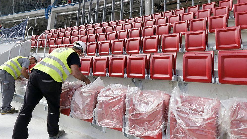 Foto: Aspecto del Wanda Metropolitano esta semana. (Foto: Atlético de Madrid)