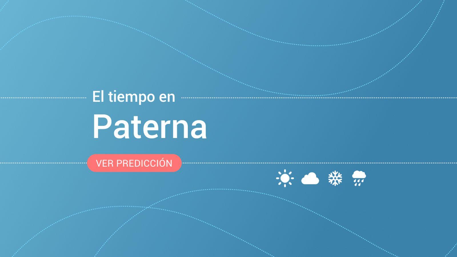 Foto: El tiempo en Paterna. (EC)