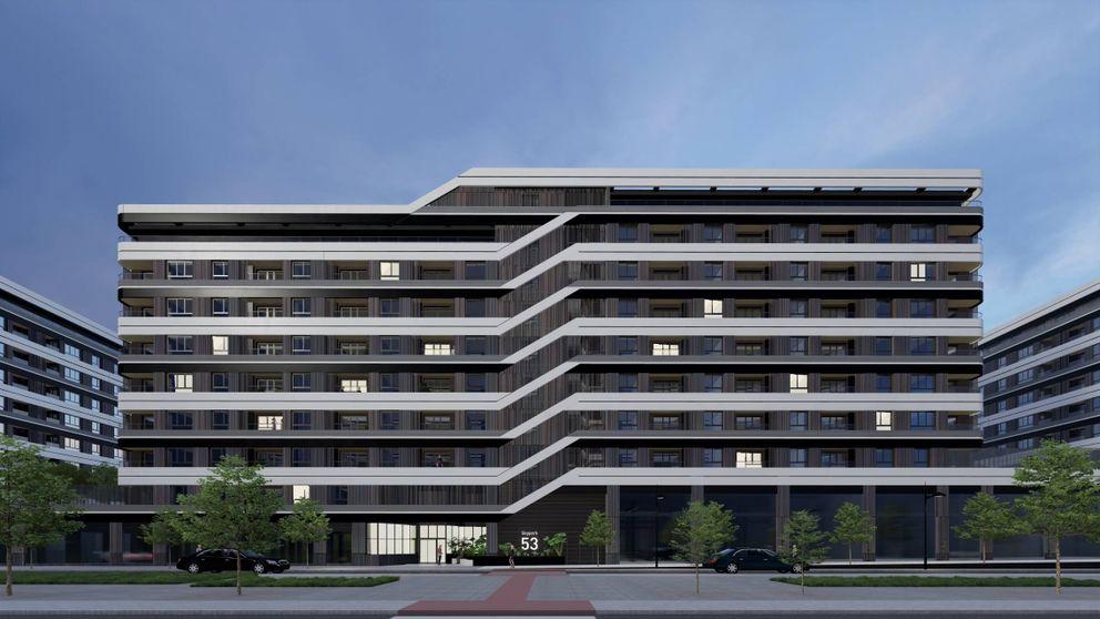 El alquiler irrumpe en Valdebebas: Acciona levantará 400 pisos para Hines