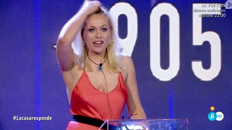 GH VIP 5: Daniela Blume, sin ropa interior, calienta la semifinal de ...