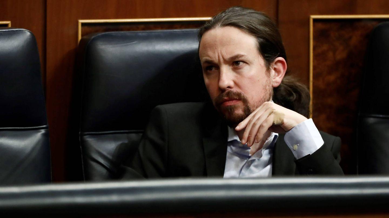 Pablo Iglesias, en el Congreso. (Getty)