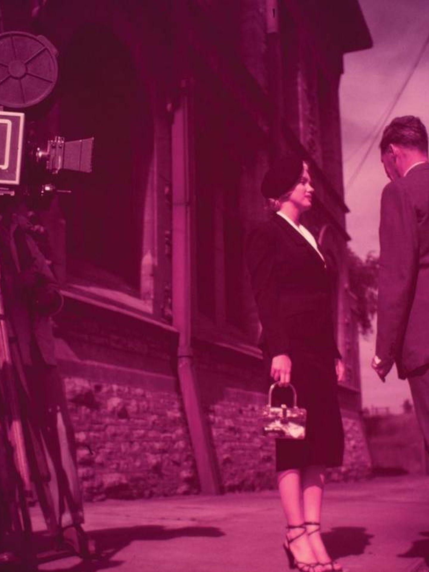 Marilyn, durante el rodaje. (RR Auction)