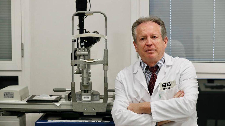 Foto: Ignacio Guerrero, presidente de la Unión Médica Profesional. (EFE)