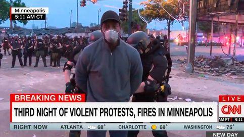 Detienen en directo a un periodista negro de CNN que cubría las protestas de Mineápolis