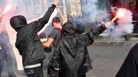 Protesta estudiantil en Roma y rezo sagrado de los viernes: el día en fotos