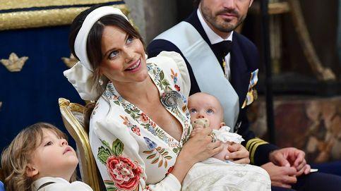 Las imágenes que demuestran que el bautizo de Julian de Suecia ha sido un juego de niños