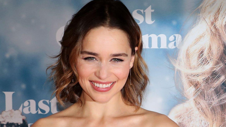 Emilia Clarke en el estreno de su última película en Berlín. (EFE)