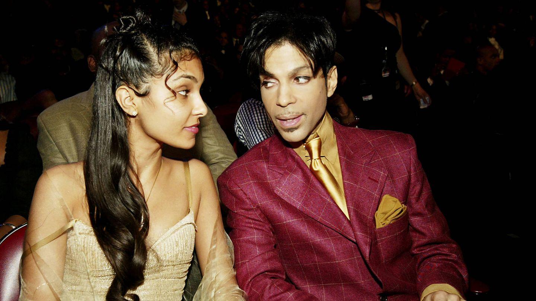 Prince y su segunda esposa, Manuela Testolini. (Getty)