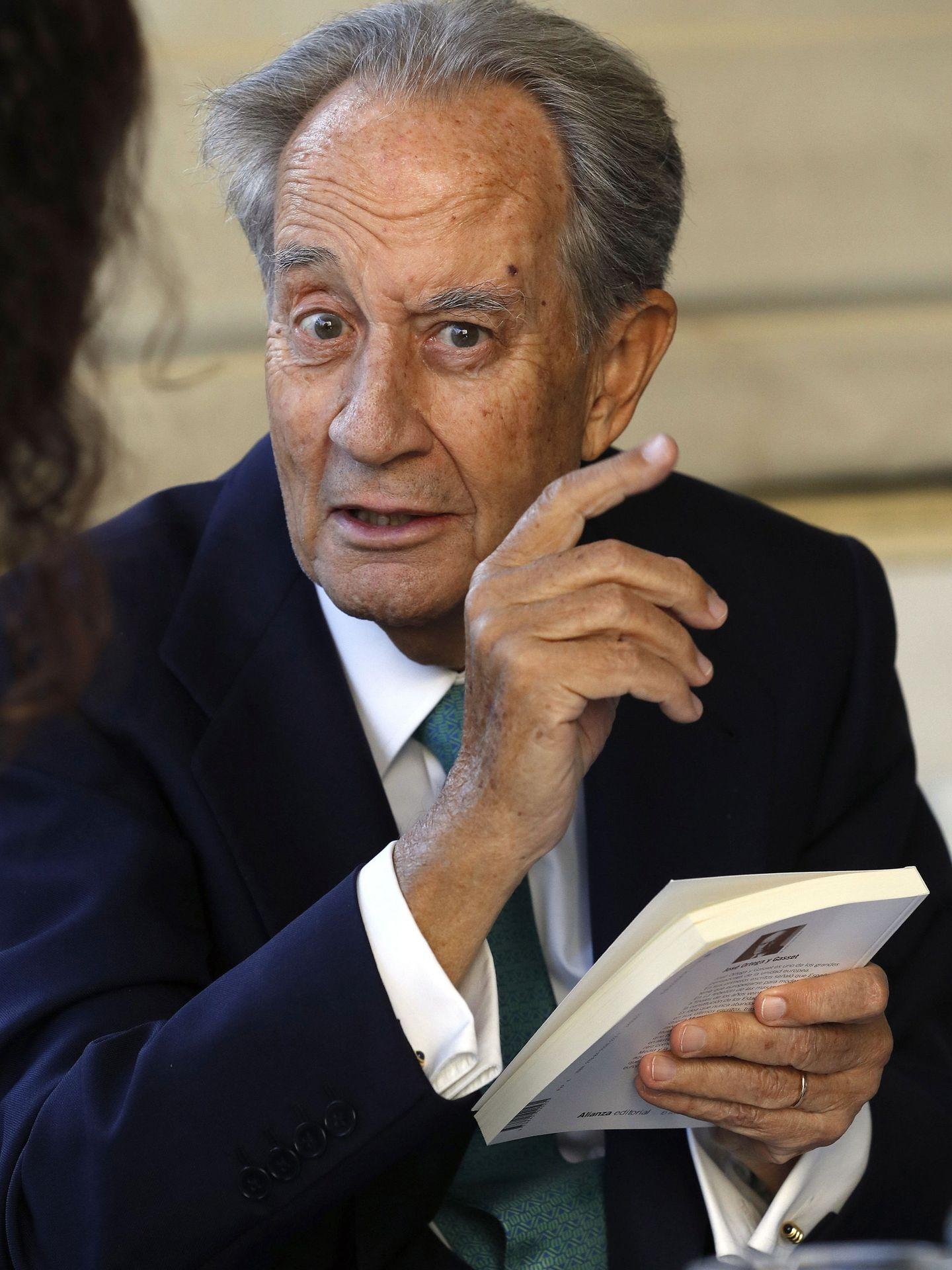 Juan Miguel Villar Mir, fundador de OHL.(EFE)