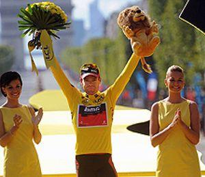 Evans logra la victoria en el Tour y Cavendish, la última etapa