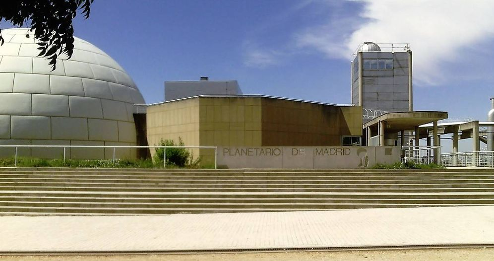 Foto: Imagen general del Planetario de Madrid. (Google)