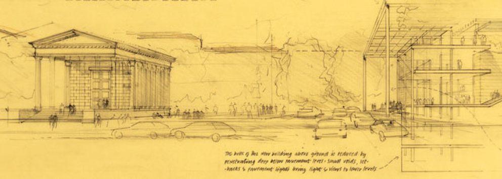 Foto: Norman Foster expone más de 200 dibujos en su 'casa'