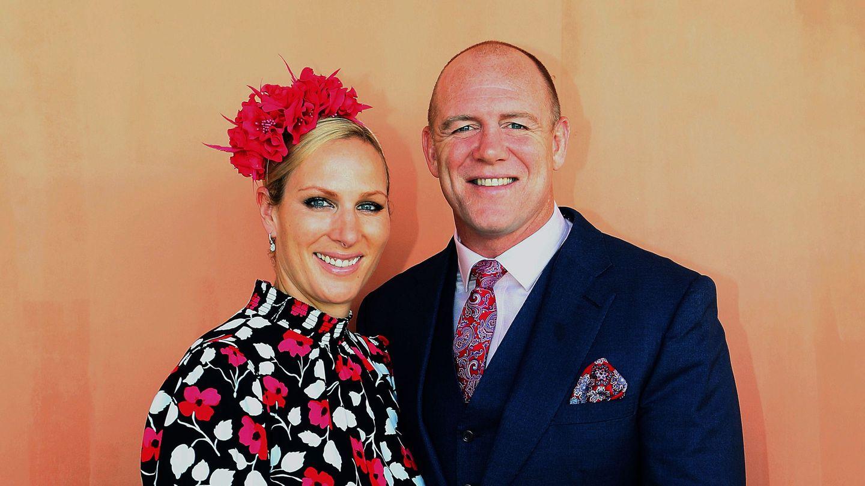 Zara y su marido, Mike Tindall. (EFE)