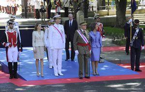 Los Reyes y los príncipes, juntos por primera vez tras la abdicación