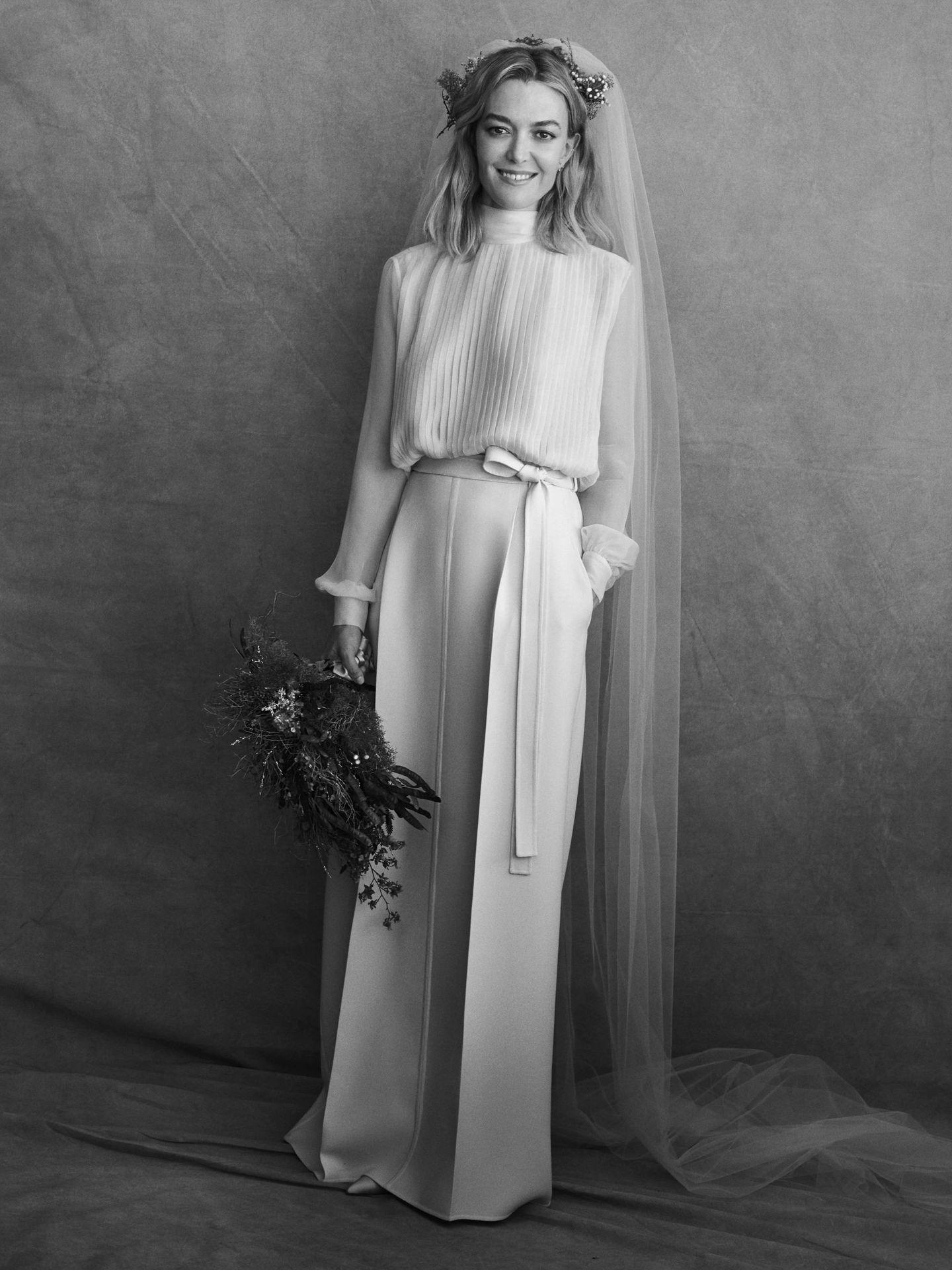 Marta Ortega, vestida de Valentino. (Peter Lindbergh)