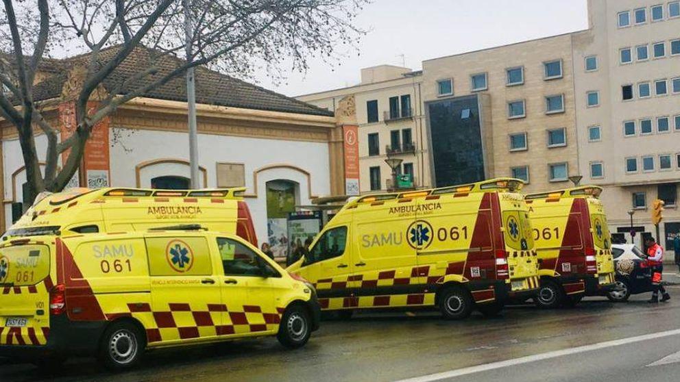 Sanitarios del 061 reciben una brutal agresión al atender a un paciente en Ceuta