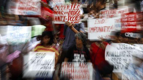 Protestas contra la campaña antidroga en Filipinas