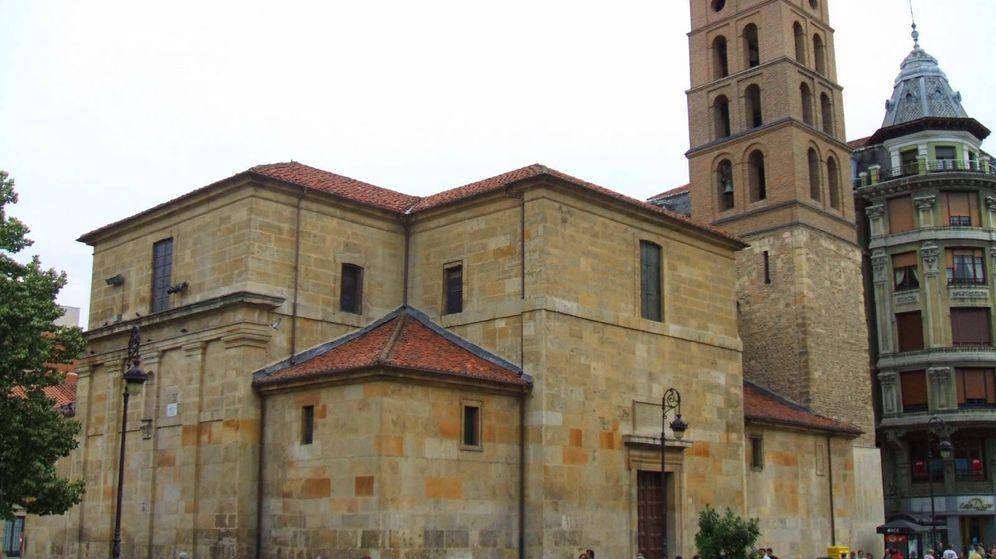 Foto: Iglesia de San Marcelo situada en la ciudad de León.