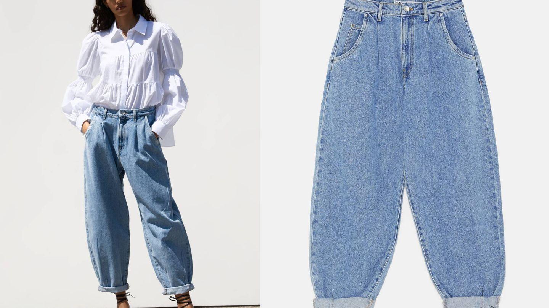 La modelo es una de las afortunadas en probar este pantalón. (Cortesía)
