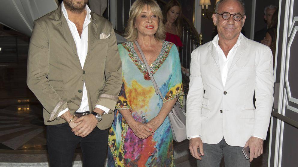El director de 'Sálvame' Raúl Prieto y el arquitecto Joaquín Torres posan juntos