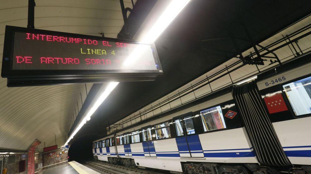 Foto: Imagen de archivo de Metro Madrid. (EFE)