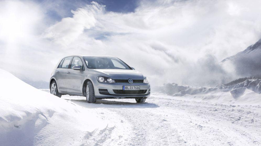 Foto: En estas circunstancias solo unos neumáticos de invierno o unas buenas cadenas nos permitirán llegar al destino.