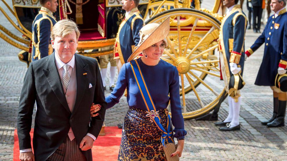 La reina Máxima, una Cenicienta moderna en la apertura del Parlamento