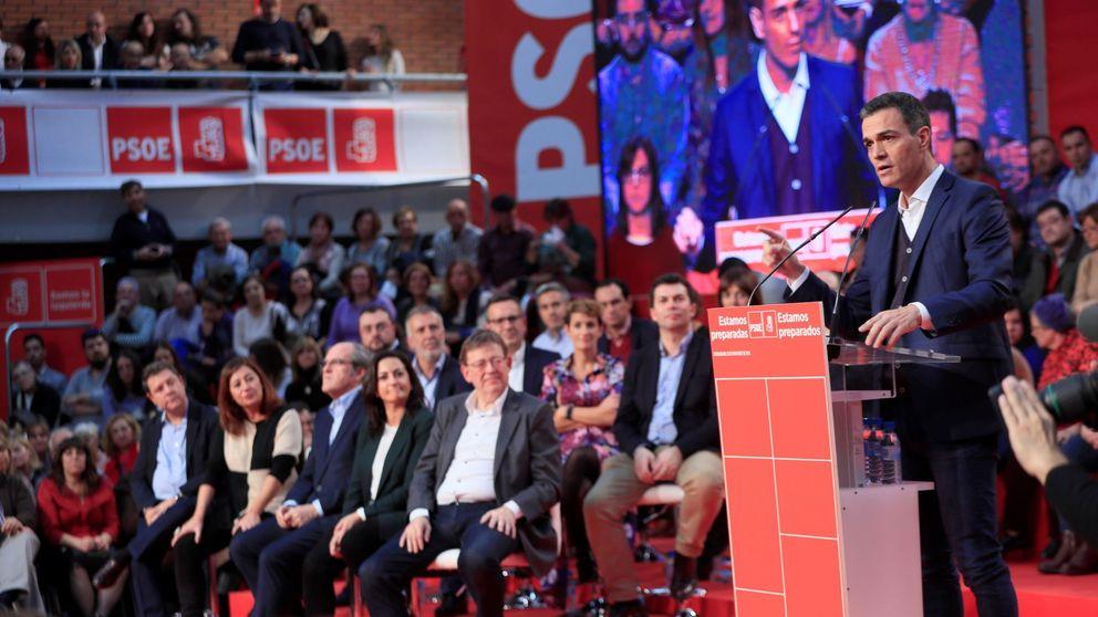 Barones del PSOE temen 'efecto contagio' por la estrategia con Cataluña