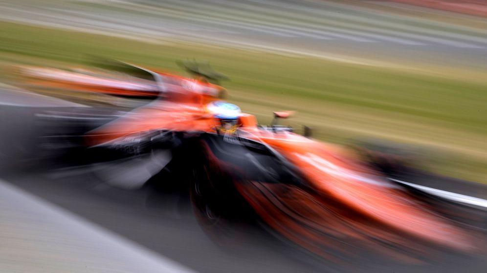 Foto: Fernando Alonso en Silverstone. (EFE)