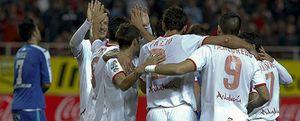 El Sevilla se aferra a Europa y deja al Getafe al filo de la zona de descenso