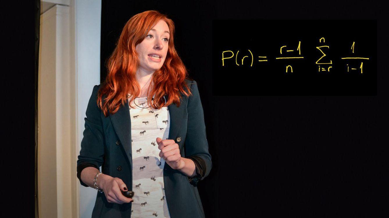 Foto: Hannah Fry y su ecuación para encontrar pareja. (TED)