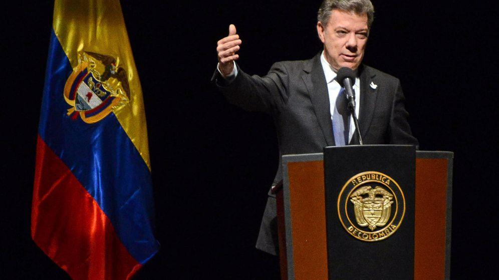 Foto: El presidente colombiano, Juan Manuel Santos. (EFE)