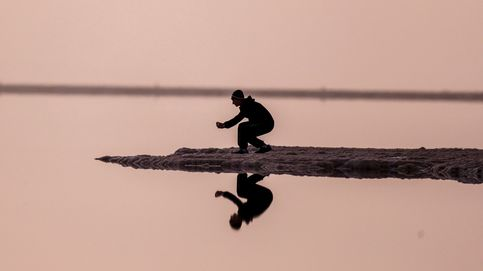 Descubren cómo se forman los cristales del Mar Muerto: nieva sal