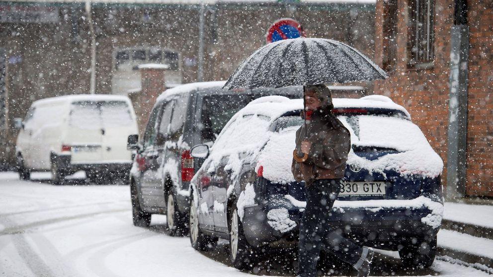 Una treintena de provincias, en alerta por nevadas, lluvias, frío, viento o fuerte oleaje