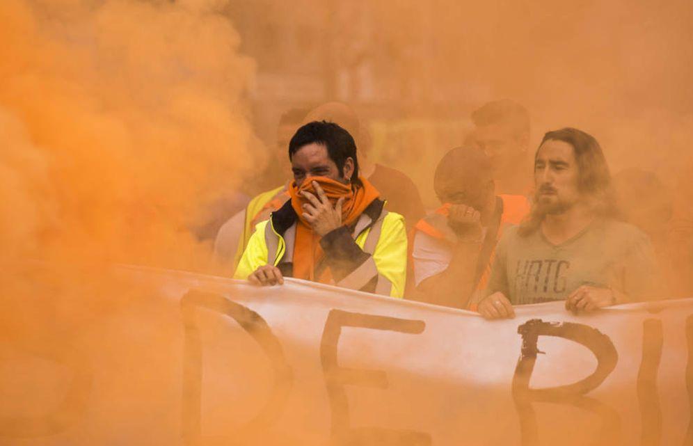 Foto: Los estibadores paralizaron los puertos españoles durante semanas. (EFE)