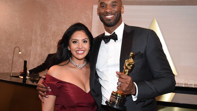 Vanessa y Kobe Bryant. (Getty)