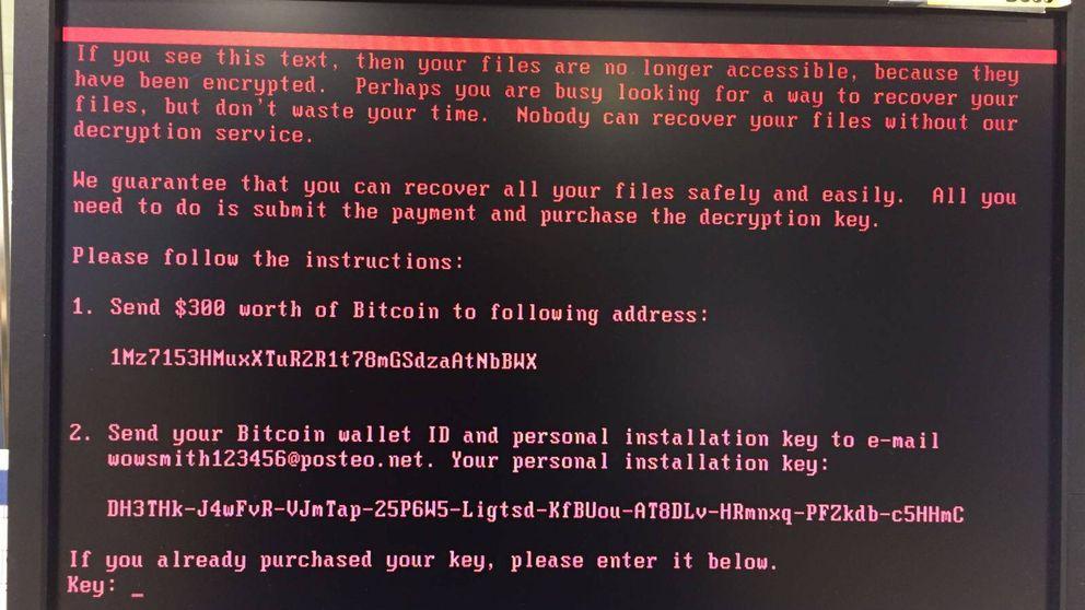 Un nuevo ataque de 'ransomware' paraliza grandes empresas en todo el mundo
